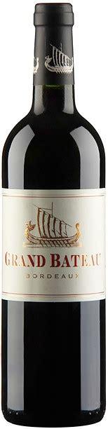 wine quot grand bateau quot bordeaux aoc 2012 winestyle