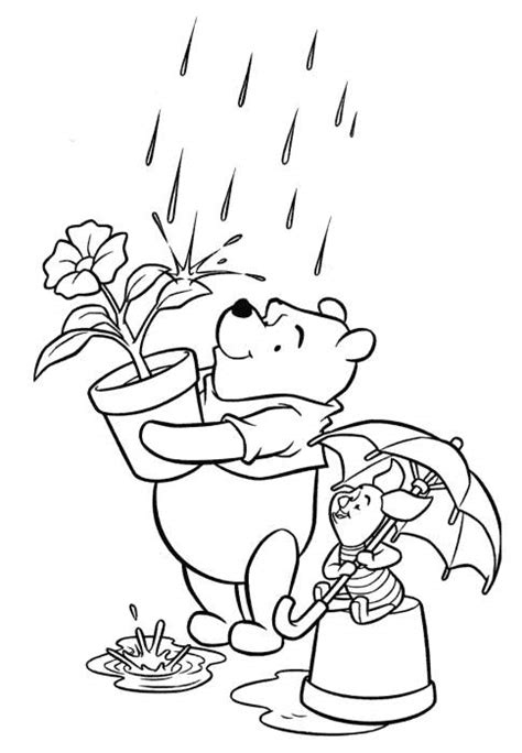 Free Coloring Pages Of Piglet From Winnie The Pooh Winnie The Pooh And Piglet Coloring Pages
