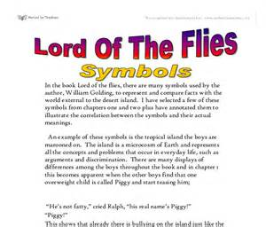 Lord Of The Flies Symbolism Essay by Essay On Lord Of The Flies Symbolism