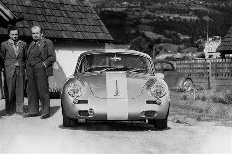 ferry porsche ferry porsche pictured with a 356 outlaw