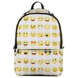 emoji backpack smiley mood day pack women backpack boy