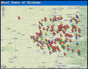 ghost towns of oklahoma grid shtf