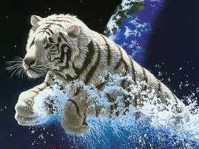 destacados de agua fondo de pantalla 11 1024x768 fondos de descarga fondo de pantalla tigre blanco saliendo del agua 1024x768
