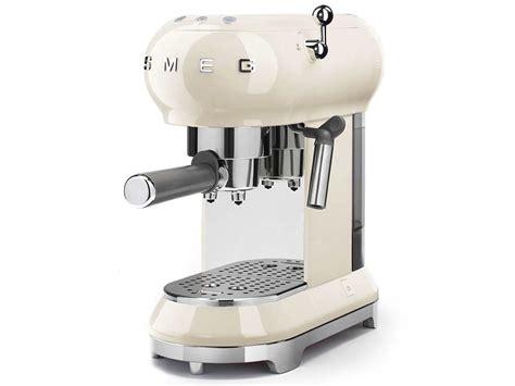 smeg ecfcreu espresso kaffeemaschine creme
