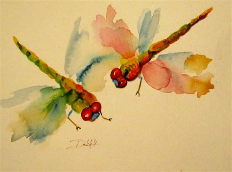 watercolor tattoo wrocław daily painters of michigan insects dragonflies by