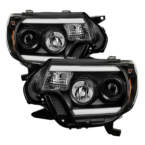 2015 tacoma lights spyder 2012 2015 toyota tacoma led drl projector