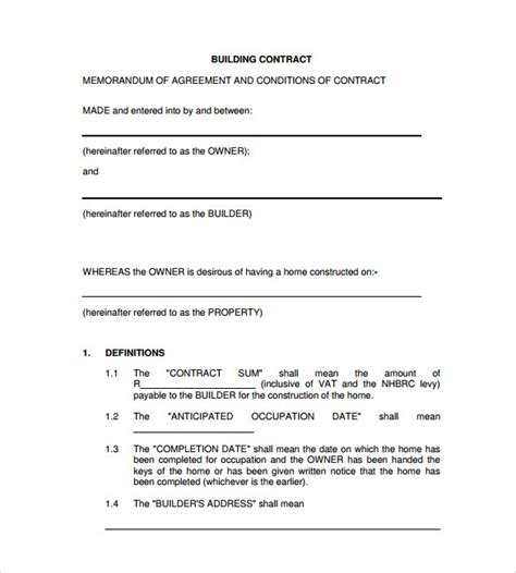 remodeling contract template remodeling contract template 8 free documents