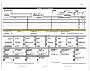 safety assessment template hazard analysis template quotes
