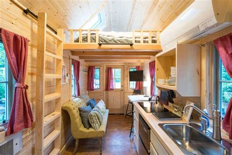 tumbleweed tiny house interior elm by tumbleweed tiny houses will seduce you with its rustic charm tiny houses