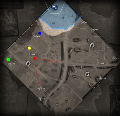 british tactical map base placement company  heroes