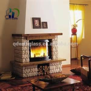 ceramic glass fireplace doors 5mm heat resistant ceramic