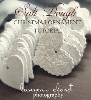salt dough christmas ornaments. i love the texture of