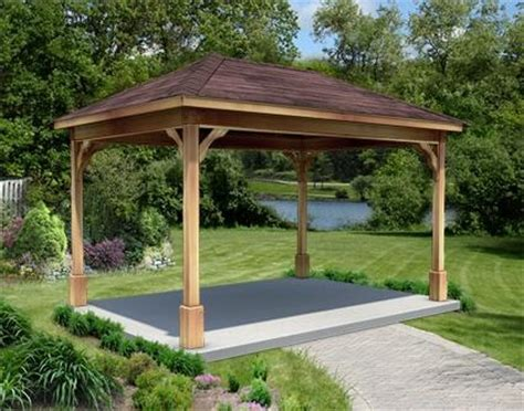 building a backyard pavilion 138 best images about yard patio on pinterest fire pits