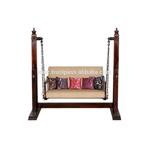 wooden swing chair indoor list manufacturers of wood swing indoor jhula buy wood