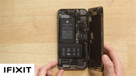 iphone xs max battery replacement and reassembly