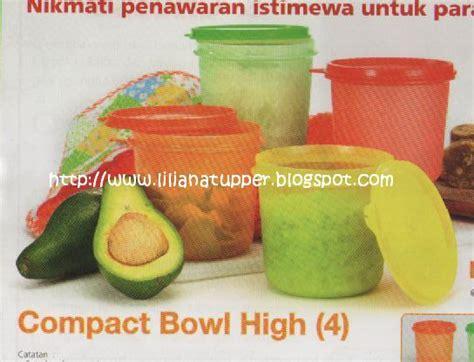 Compact Bowl High 4 Tupperware liliana s tupperware tuppy indonesia promo jun 2010