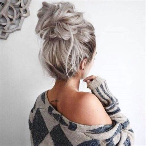 hairstyles buns pinterest how to finally perfect the enigma that is a messy bun