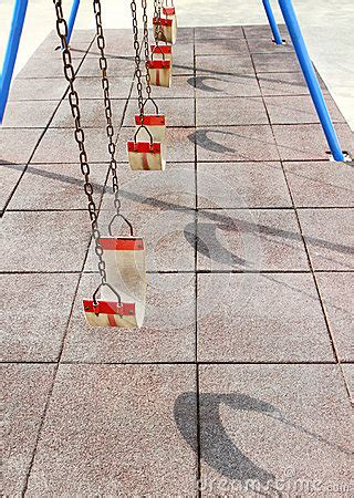 swing set rows empty swing set royalty free stock photography image