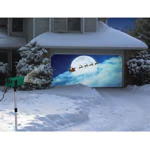 the animated holiday scenes projector hammacher schlemmer