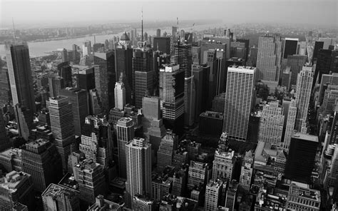 wallpaper black and white buildings skyscrapers wallpapers wallpaper cave