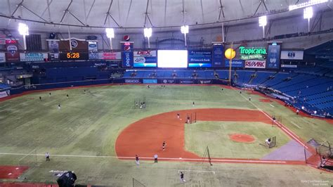 tropicana field seating chart with rows and seat numbers tropicana field section 311 ta bay rays