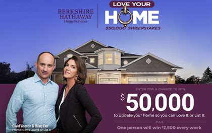 Berkshire Hathaway Sweepstakes - berkshire hathaway love your home 50 000 sweepstakes sun sweeps