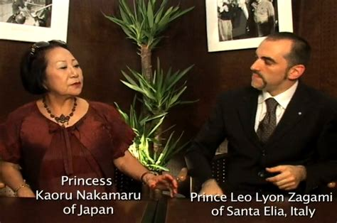 japan illuminati princess nakamaru of japan prince leo of italy about the