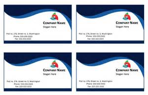 business cards exles templates blue business card template printable templates