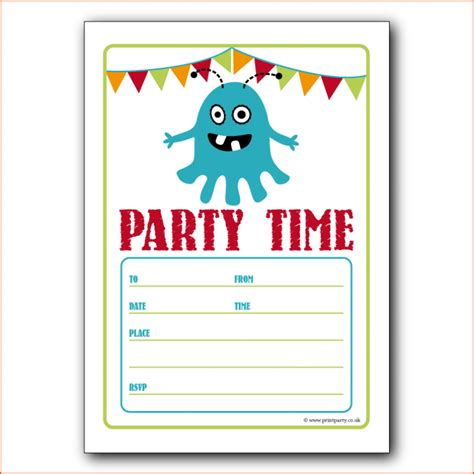 7 party invitation template word bookletemplate org