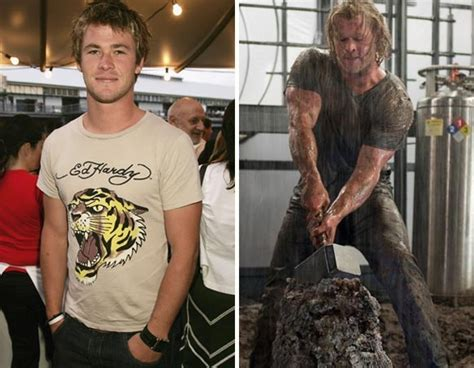 how much can chris hemsworth bench chris hemsworth thor before and after fitness