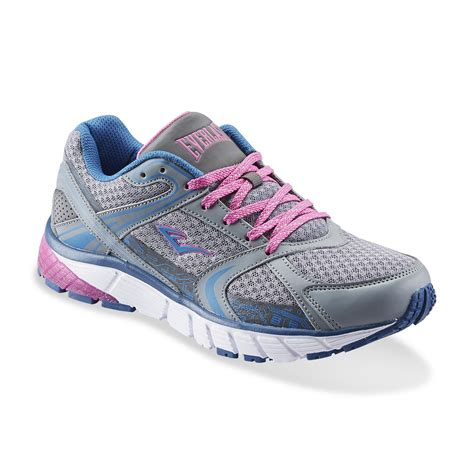 sears womens athletic shoes everlast 174 s journey gray blue pink athletic shoe