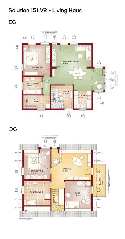 Haus Ohne Keller Grundriss by Grundriss Einfamilienhaus Mit Galerie 5 Zimmer