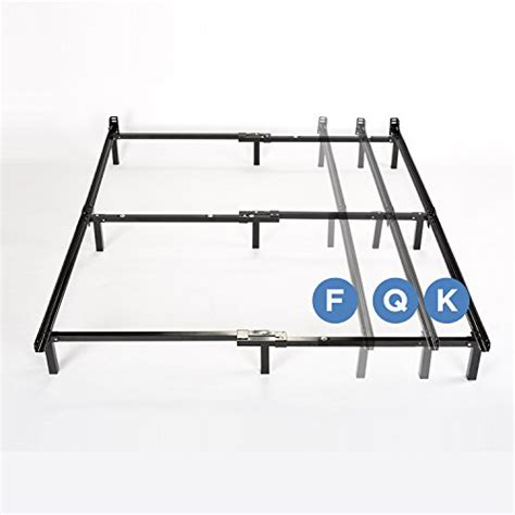 zinus compack adjustable steel bed frame for box mattress set fits to king buy