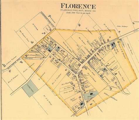 pin florence map of 1883 on