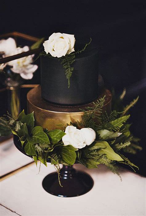 Black Wedding Cake Flowers by Black Wedding Cake Ideas Black Wedding Cakes 100 Layer
