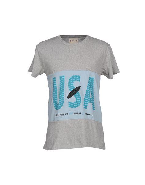Bwgh Heka Grey Shirt Grey we go t shirt in gray for lyst
