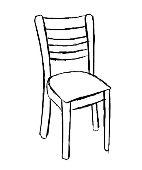 how to draw a armchair how to draw a chair feltmagnet