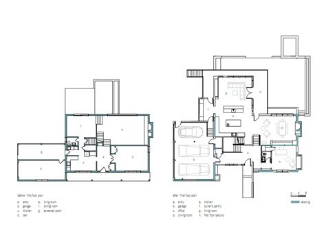 Split Floor Plan lakefront residence by moore architects karmatrendz