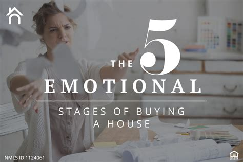 house buying stages the 5 emotional stages of buying a house