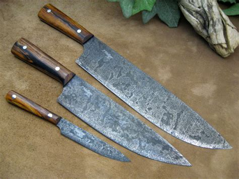 high carbon steel kitchen knives kitchen knives by neilson s mountain hollow