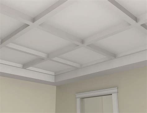 foam coffered ceiling bm3001 interior plaster beam for waffle coffered ceilings molding and trim by mouldex