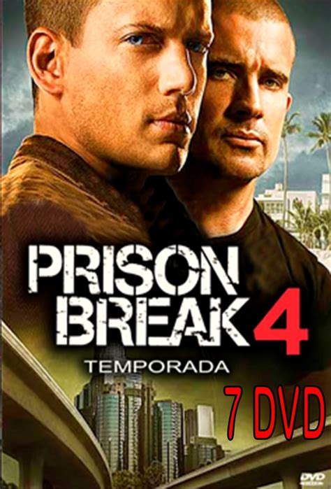 prison break cuarta temporada prison break temporada 4 completa formato original bs