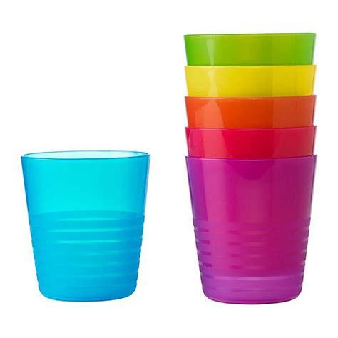 ikea bicchieri bicchieri di plastica colorati e divertenti le pi 249