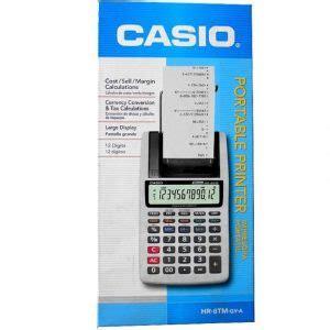 Murah Pita Label Printer Casio 9mm paket casio hr 8 tm kalkulator print primajaya