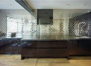 Mirror Kitchen Backsplash by Trend Alert Mirrored Backsplashes For Your Kitchen