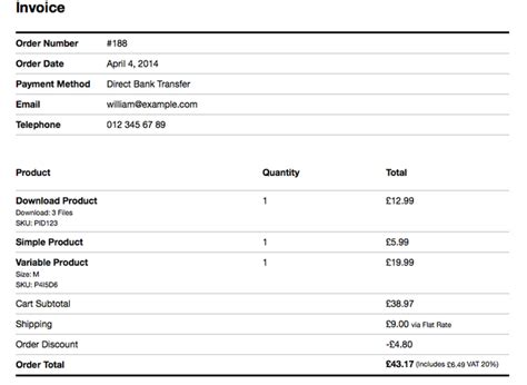 woocommerce printable invoice 42 best woocommerce plugins to expand beyond the basic