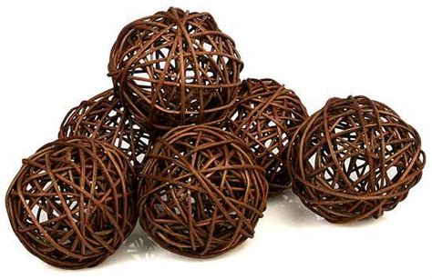 grapevine balls brown twig grapevine balls package of 6