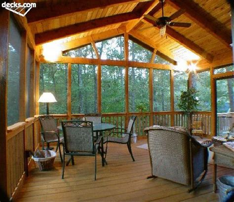 Post And Beam Screened Porch introduction to porch building decks