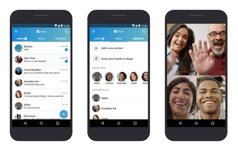 skype mobile android skype now optimized for android devices running 4 0 3 to 5