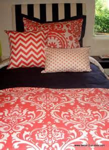 Bedding Sets Coral Coral Damask Room Bedding Decor 2 Ur Door